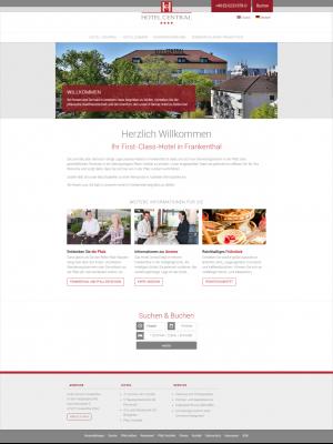 Webdesign Drupal CMS Firmenwebsite Frankenthal