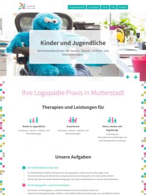 Webdesign Logopädie Praxis