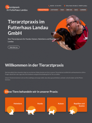 Webdesign Tierarztpraxis